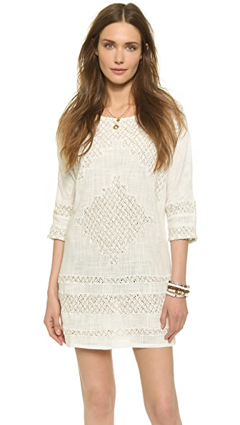 Shop Free People online and buy Free People Cotton Slub Desert Song Mini Shift Dress Ivory online store