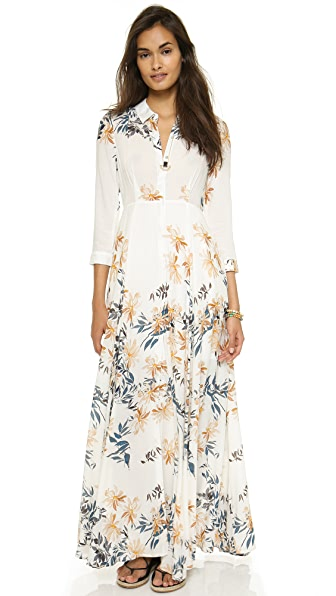 Free People After the Storm Shirtdress