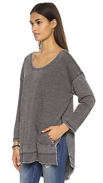 Free People Tiger Pullover