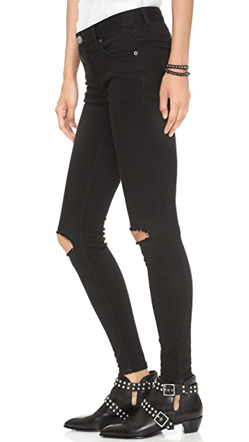 Free People Destroyed Jeans