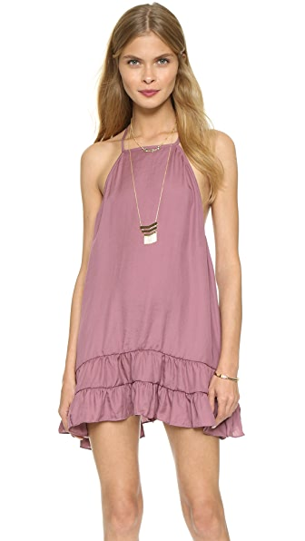 Free People Raven Slip Dress