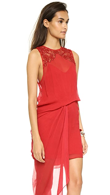 Free People Red Hot Party Dress