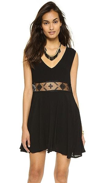 Shop Free People online and buy Free People Summer Feeling Dress Black online store
