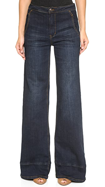 Free People High Waisted Bell Bottom Jeans Shopbop