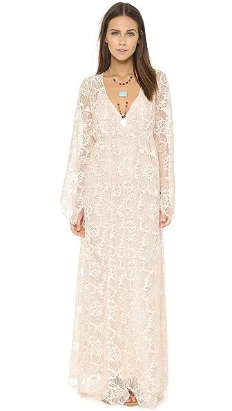 Kupi Free People online i prodaja Free People Cool & Sensual Lace Maxi Dress Ballet haljinu online