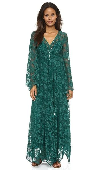 Free People Cool & Sensual Lace Maxi Dress