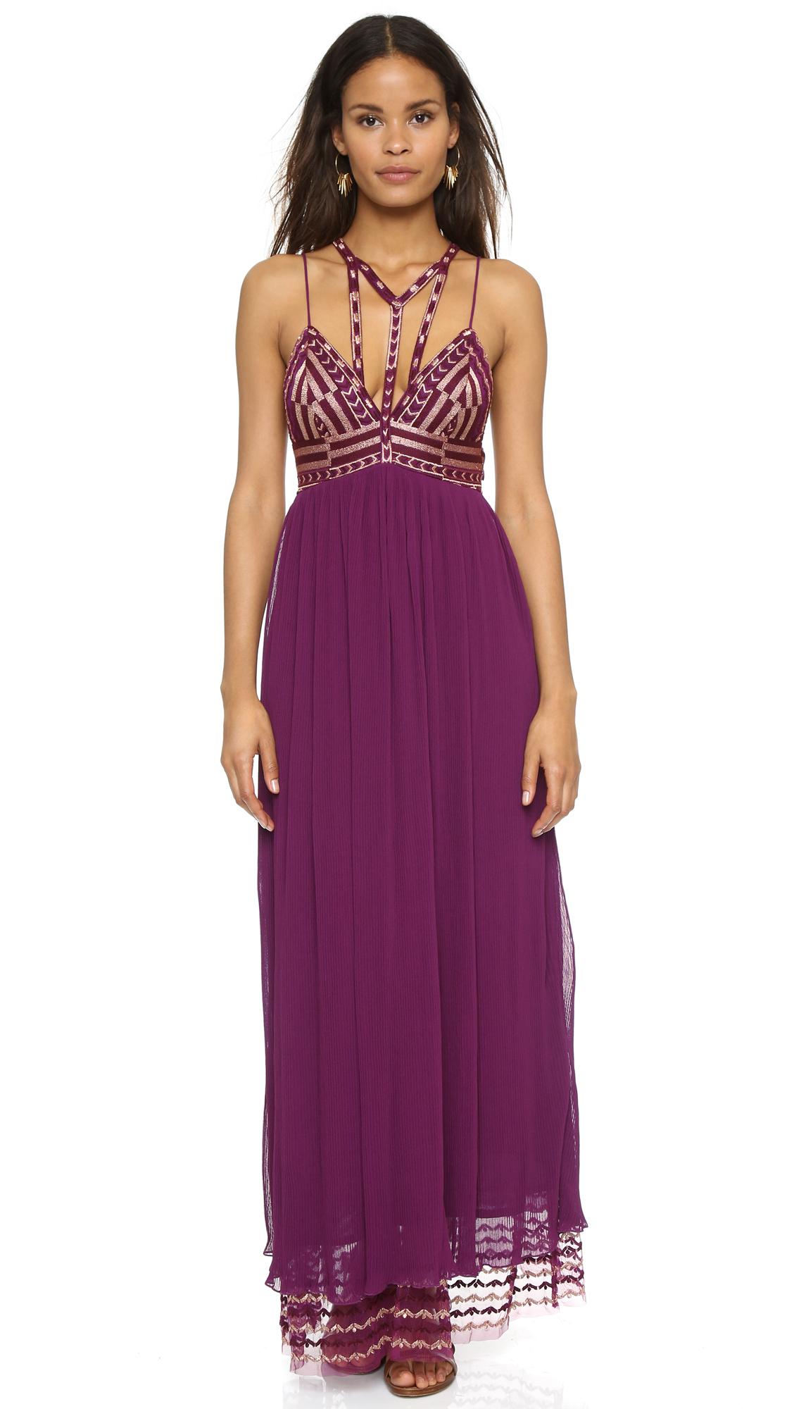 Free People Sacred Geometry Maxi Dress | SHOPBOP