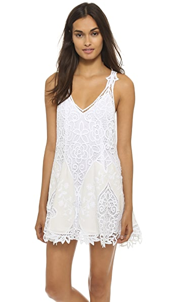 Shop Free People online and buy Free People Victoria Mini Dress White dress online