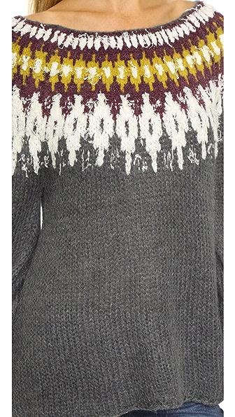 Free People Baltic Fair Isle Sweater   SHOPBOP
