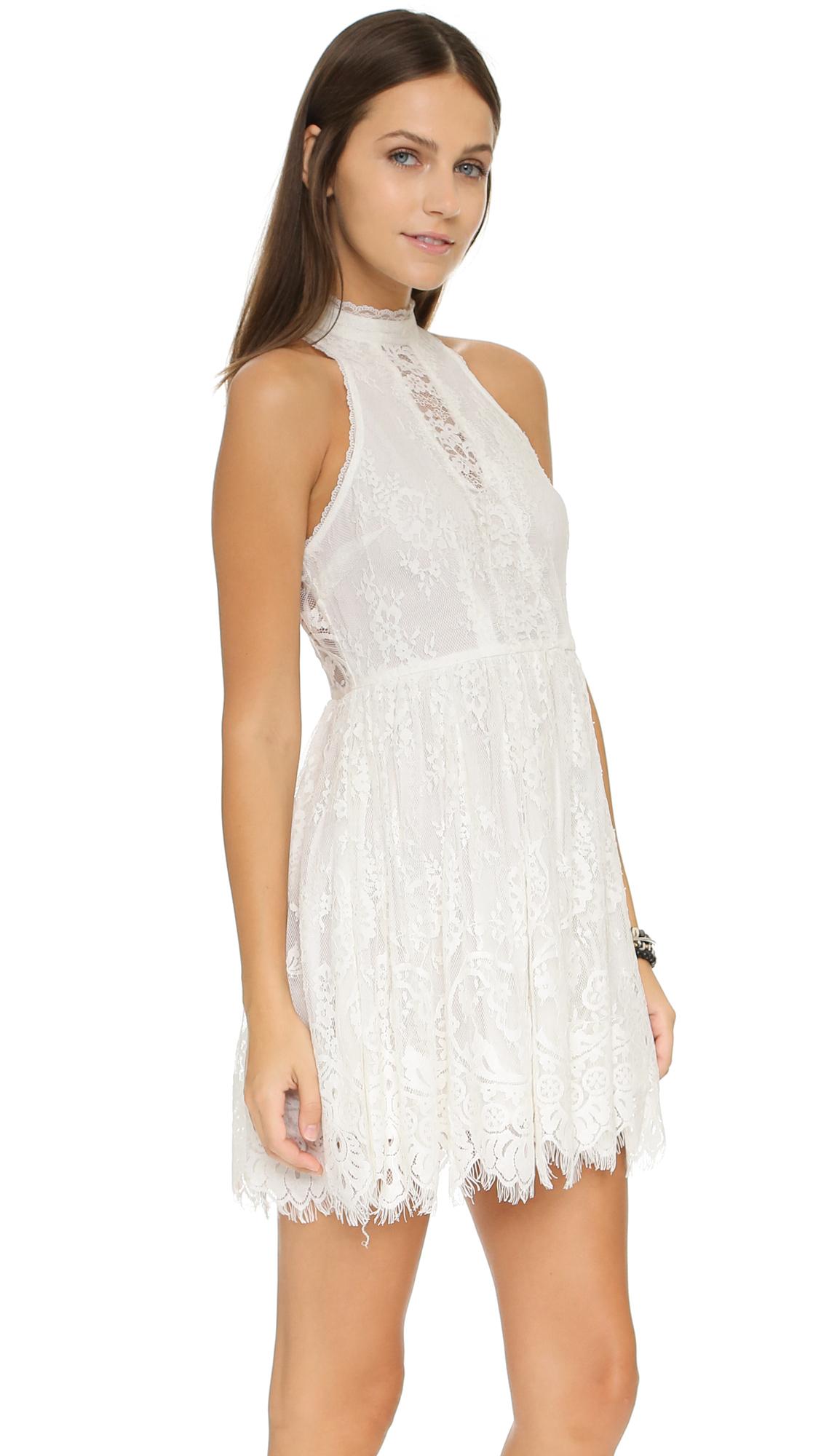 85360cbe8654 Free People Lace Verushka Mini Dress | SHOPBOP