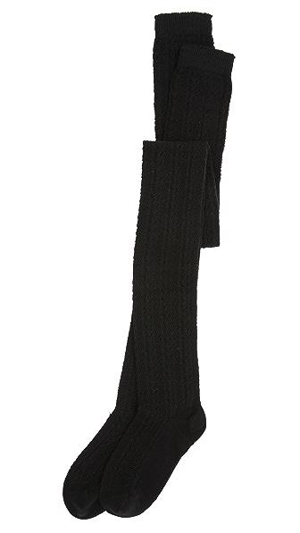 Free People Hammock Thigh High Socks