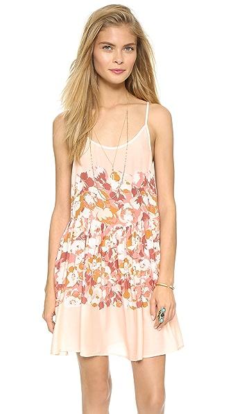 Shop Free People online and buy Free People Shortie Slip Dress Petal Combo dress online