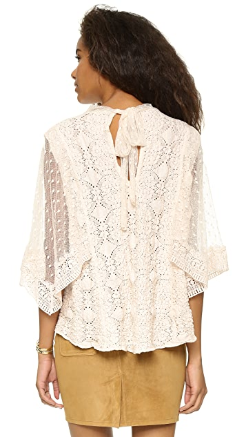 Free People Hard Candy Blouse
