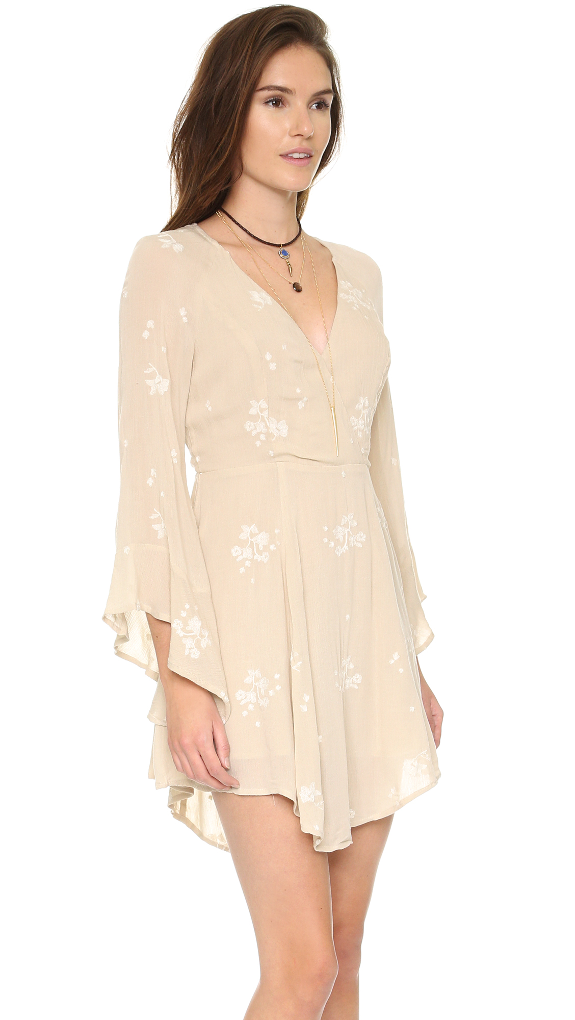 11afa26ce45290 Free People Jasmine Embroidered Mini Dress | SHOPBOP