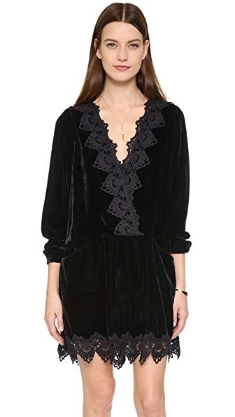 Free People Premier Velvet Dreams Dress