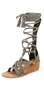 Saltarello Mini Wedge Gladiator Sandals                Free People