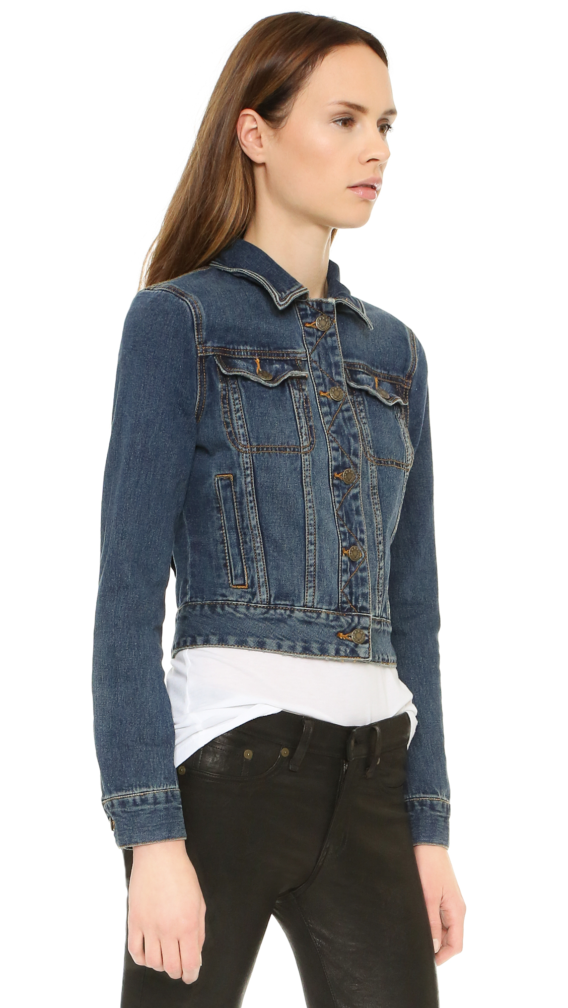 Free People Fitted Denim Jacket | SHOPBOP