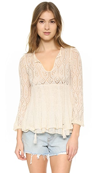Free People Angel Days Pullover