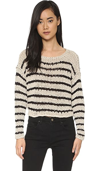 Free People Over and Easy Sweater