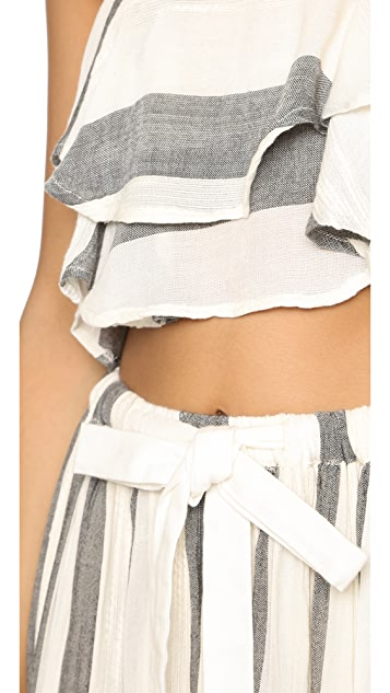 Free People Lily Stripe Set