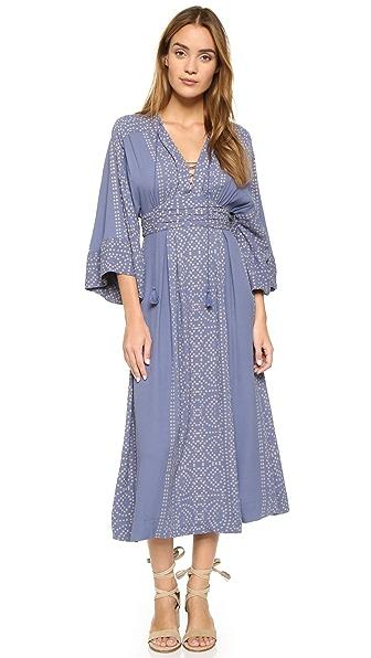 Free People Modern Kimono Maxi Dress