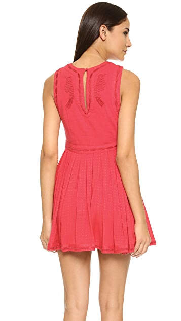 Free People Birds of a Feather Mini Dress