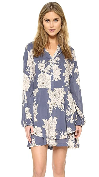 Free People Shake It Print Mini Dress