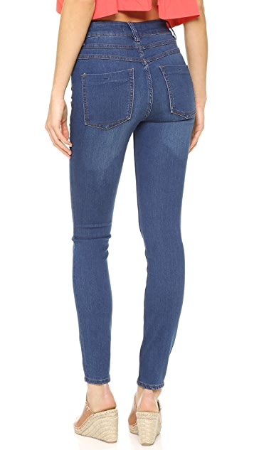 Free People Beverly Skinny Jeans