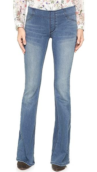 Free People Расклешенные джинсы без застежек