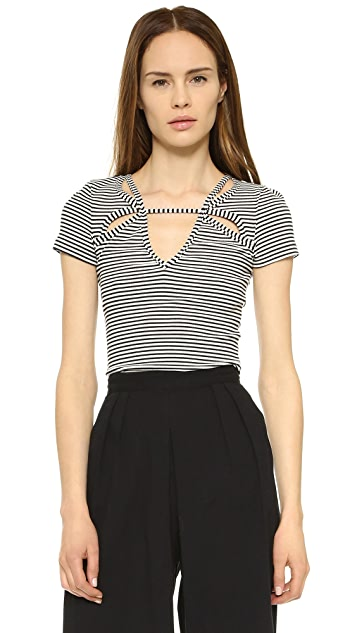 Free People Frenchie Tee