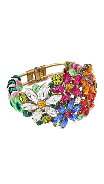 frieda&nellie Flower Metal Mama Bracelet