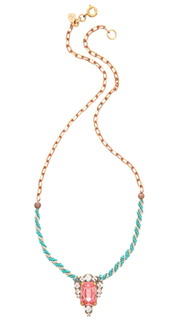 frieda&nellie With a Twist of Fancy Necklace