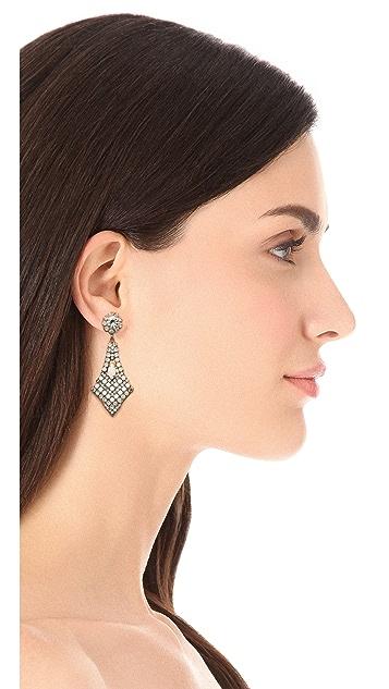 frieda&nellie Rhinestone Marks the Spot Earrings