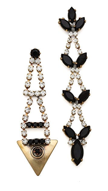 frieda&nellie Garden Bliss Mismatched Earrings