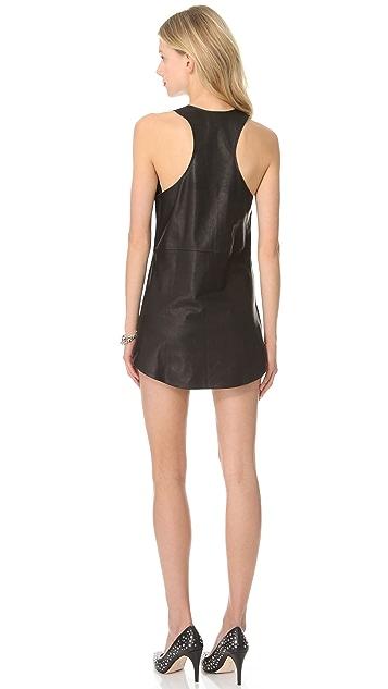 Friend of Mine Roar Leather Dress