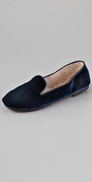 FRENCH SOLE fs/ny Drama Velvet Flats