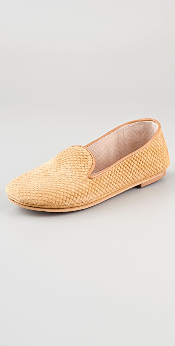 FRENCH SOLE fs/ny Drama Suede Loafers