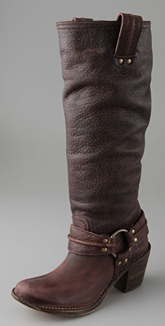 Frye Carmen Harness Tall Boots