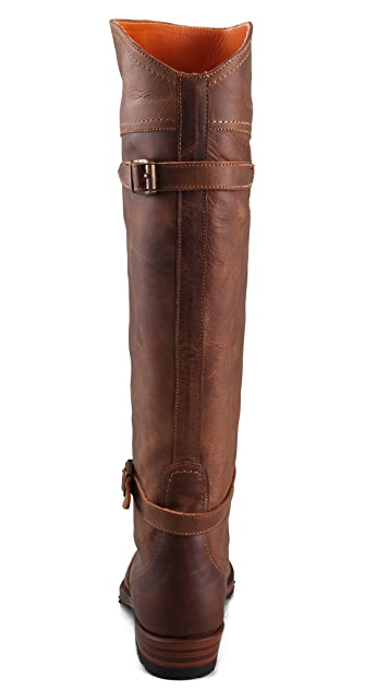Frye Dorado Lug Sole Riding Boots