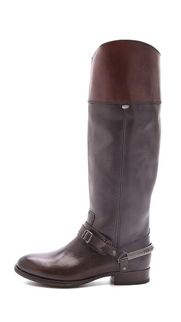 Frye Lindsay Spur Boots