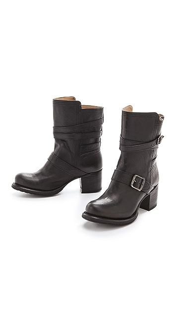 Frye Vera Strappy Boots
