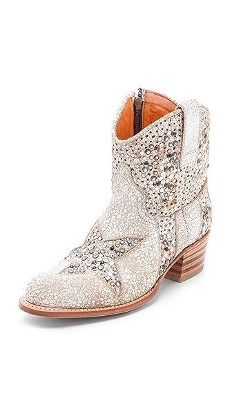 Frye Deborah Star Short Boots