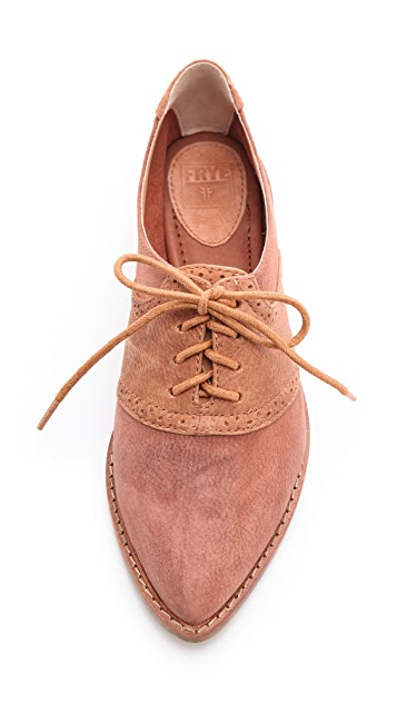 Frye Delia Saddle Oxfords