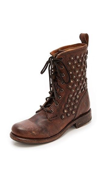Frye Jenna Lace Up Boots