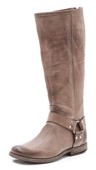 Frye Phillip Harness Tall Boots