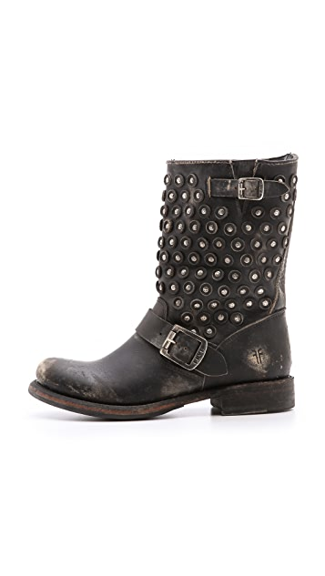 Frye Jenna Disc Booties