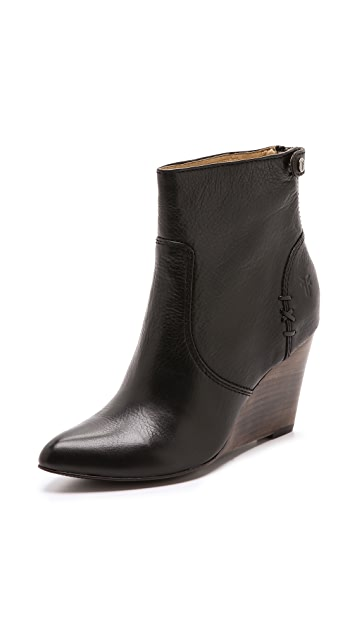 Frye Regina Wedge Booties