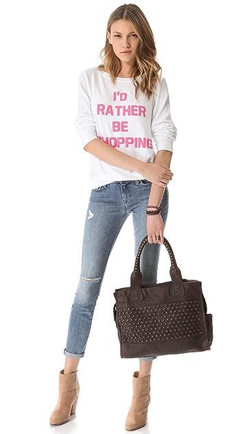 Frye Jenna Disc Shoulder Bag