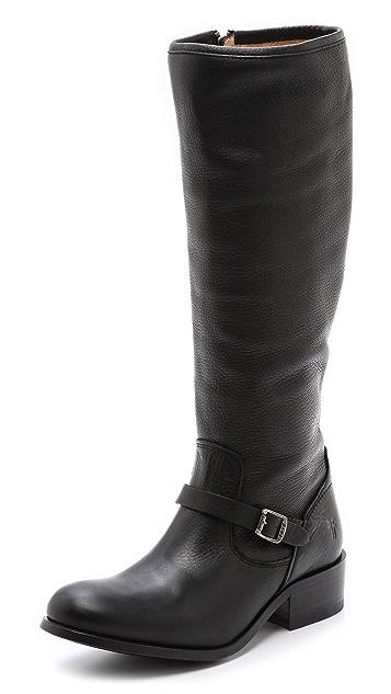 Frye Lynn Strap Tall Boots