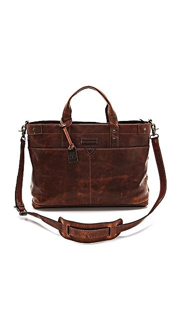 Frye Logan Zip Top Bag
